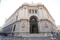 La sede della Banca d'Italia a Milano.      ANSA / DANIEL DAL ZENNARO